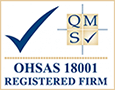 ohsas 18001 registered firm